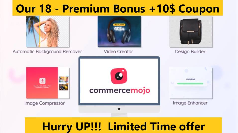 CommerceMojo review + oto + 18 Bonus +$10 coupon