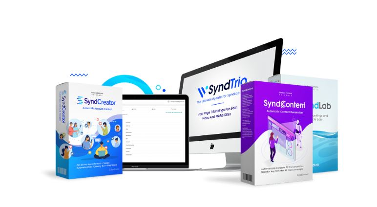 SyndTrio review + demo +coupon, deals and bonus