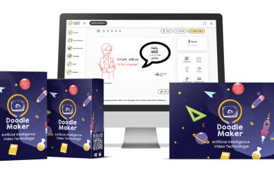 Doodle Maker Demo + review +price +features +oto+coupon and bonus