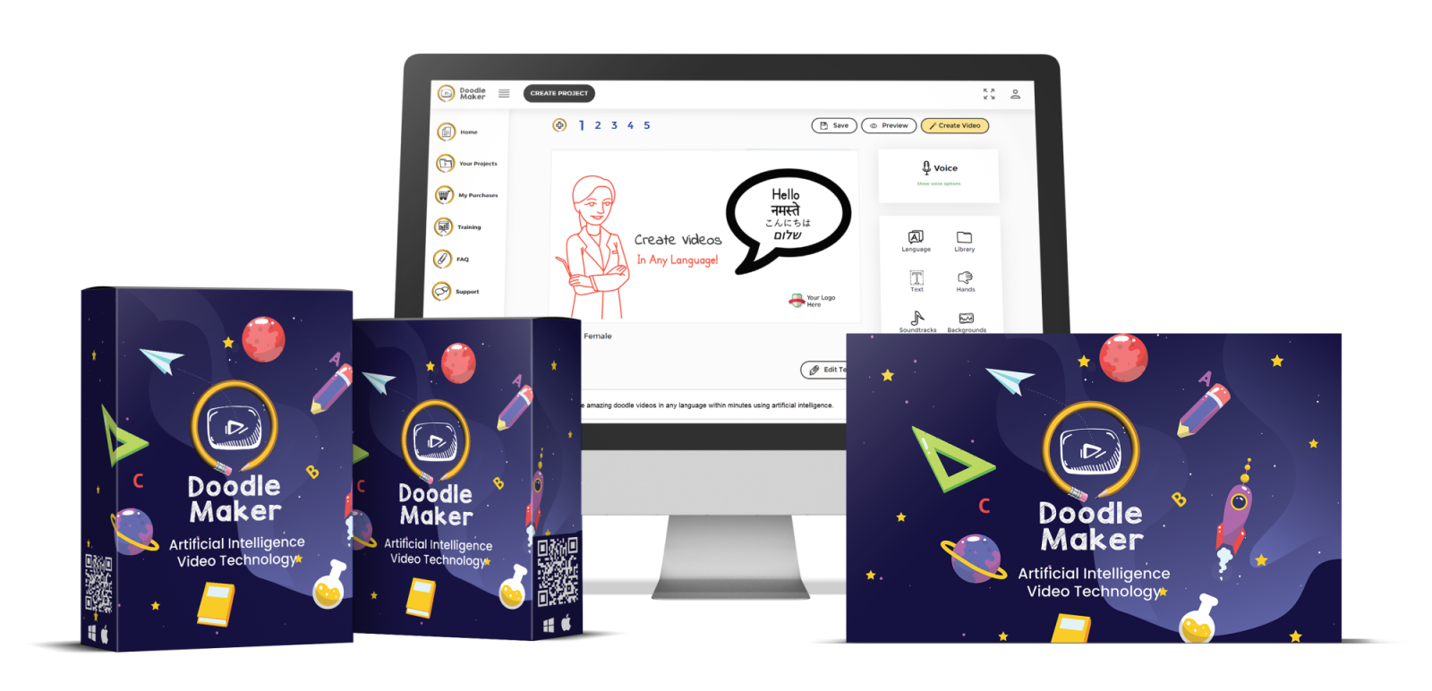 Doodle Maker Demo + review +price +features +oto+coupon and bonus - OTO Monks